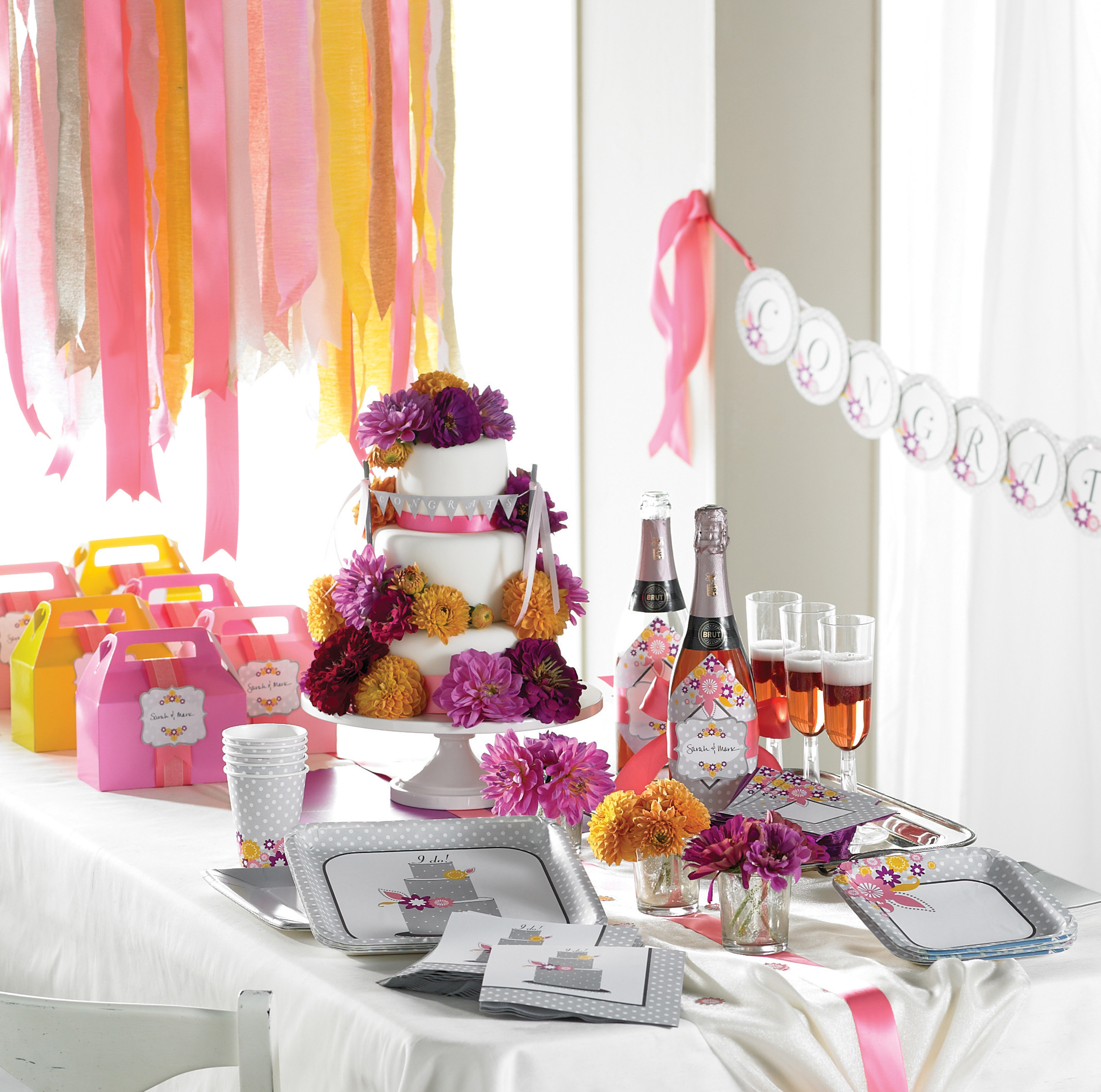 spa bridal shower ideas